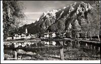 MITTENWALD Bayern AK 1968 Blick Alpen Berge Karwendel alte Ansichtskarte