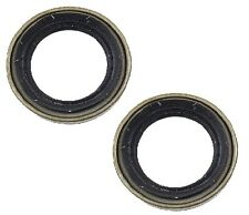 For Lexus GS300 GS400 Toyota Supra Set of 2 Front Left And Right Wheel Seal KP