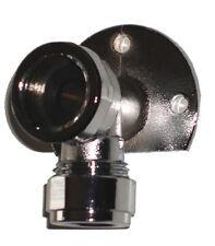 """Placa posterior Codo para brazo de ducha, Latón & Cromo, montado en la pared, 1/2"""" BSP 309"""