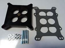 "1"" Ported Phenolic Carburetor Spacer 4bbl SBC BBC BB Fits Holley SB Chevy Ford"