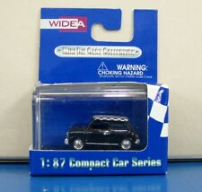 WIDEA 1/87 Compact Car Series Morris Mini Cooper Black & White