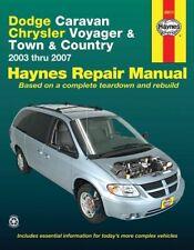 Reparaturanleitung Dodge Caravan Chrysler Voyager Town & Country, Bj. 2003-2007