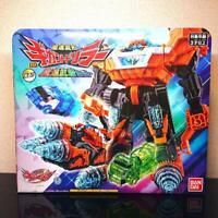 NEW Bandai Mashin Sentai Kiramager DX Gigant Driller Mashin Buso Set From Japan