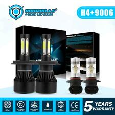 9003 H4 Hi/Lo LED Headlight+9006 Fog Light for Tundra 2000-2006 Sienna 2001-2003