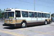 Markham Transit Orion bus Kodachrome original Kodak Slide