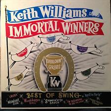 KEITH WILLIAMS SEXTET selects immortal winners LP VG+ Private CA Jazz Red Vinyl