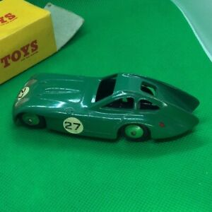Dinky Toys::  Dinky 163 Bristol 450 in British Racing Green with Original Box