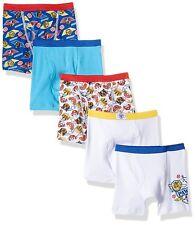 Nickelodeon Boys' Paw Patrol 5 Pack Boxer Brief Underwear Toddler Boys