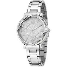 Orologio Watch Woman Just Cavalli Donna Uhr R7253551505 Acciaio Pavè Strass New
