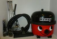 Henry Red Numatic Twin Speed Vacuum Cleaner new accessories HVR200-12 RF685