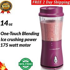 Hamilton Beach Personal Blender 14oz Travel Cup and Lid - FREE 2 Day Shipping