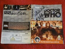 More details for dr who dvd box set - the e space trilogy signed by rare cast members