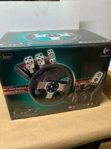 Logitech G27 Racing Wheel w/ Shifter and Power Supply brand new never out of box