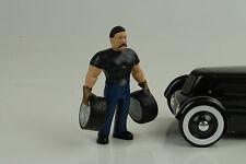 mecánico mecánico amplia WILLIE musculoso figuras 1:18 Figura American Diorama