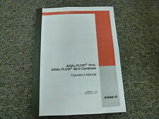 Case Ih Models 7010 & 8010 Axial Flow Combine Owner Operator Maintenance Manual