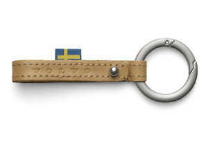 Genuine Volvo Reimagined Key Ring Keychain leather
