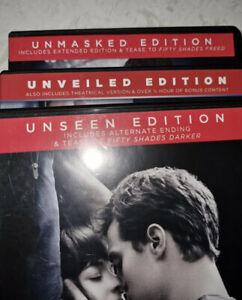 Fifty Shades Of Grey 3-Movie Collection Grey/Darker/Freed Region 4 Australia