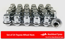 Original Style Wheel Nuts (24) 12x1.5 Nuts For Toyota Granvia 95-02
