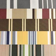 Green Khaki Multi Striped Oak 100% Waterproof Outdoor Canvas Patio Fabric