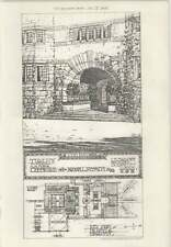 1908 Tirley Court, Cheshire For Bryan Lee Smith, Engines, Key Plan House And Gar