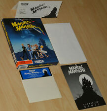 MANIAC MANSION by Lucasfilm Commodore 64 C64 DISK ~ BOXED COLLECTIBLE ~ english