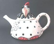 Chicken Teapot- Quirky Hen Crinoline Chicken Ceramic Teapot