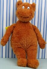 """Kohl's Cares Dr Seuss Hop on Pop Brown Bear Plush 16"""" with tags"""