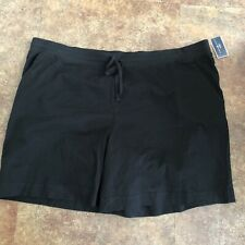 Karen Scott Shorts Size 3X Womens Black Sport Athletic Plus