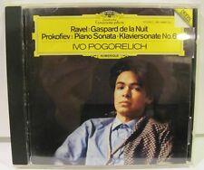 Ravel Gaspard de la Nuit Prokofiev Piano Sonata No. 6 Ivo Pogorelich CD NM