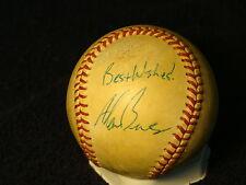 Alan Benes St Louis Cardinals Autographed Leonard Coleman Baseball