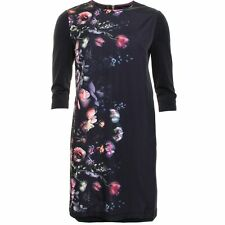 Ted Baker 'Ilesia' Floral Print Overlay Shift Dress ( Size 0- 0 US)