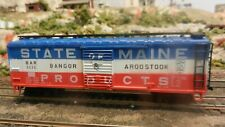 AHM IHC Rocco HO BAR State Of Maine 40' Boxcar, ,Exc