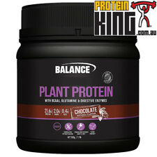 BALANCE PLANT PROTEIN 500G CHOCOLATE NATURAL GLUTEN DAIRY SOY FREE VEGAN BCAA