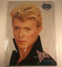 David Bowie - Serious Moonlight Tour Program 1983 Vintage New Sealed!