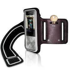 Schwarz Sports Armband Fitness Tasche für Sony Walkman NWZ-A15 A17 Joggen Hülle