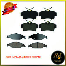 High Quality Full Set Brake Pads Front & Rear Fits Ford Focus