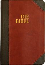 Die bibel - Schlachter Version 2000 mit Parallelstellen Einband, grau/braun