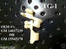 """General Motors Door / Tailgate Handle Rod Clips Fits 3/16"""" Rods&11/32"""" hole TG-1"""