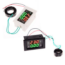 Ac 100a 300v Lcd Digital Ammeter Voltmeter Amp Volt Meter With Current Transformer