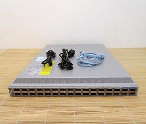 Cisco N9K-C93180LC-EX Nexus 9300 Up to 32p 40/50G OR 18p 100G N93-LAN1K9 2x PWR