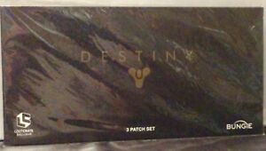 Destiny 3 Patch Set~Loot Crate Exclusive~New/Sealed