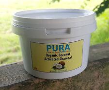 PURA® Fine COCONUT Activated Charcoal Powder 200 Gram Pot. Activated Carbon