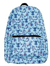 NWT Disney Lilo & Stitch Tossed Print School Book Bag Backpack