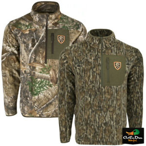 NON-TYPICAL DRAKE - STORM FRONT FLEECE MIDWEIGHT 4-WAY STRETCH 1/4 ZIP PULLOVER