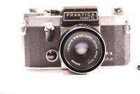 Praktica super TL with Carl Zeiss Tessar 2.8/50 lens DDR