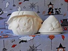 Pumpkin Box (H17) Ceramic Bisque Ready to Paint