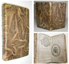 1784 GAY'S FABLES Well Illustrated AESOP'S STYLE book FINE LEATHER BINDING
