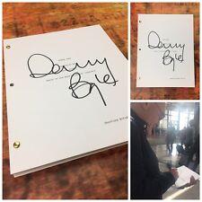 GFA Steve Jobs Director * DANNY BOYLE * Signed Movie Script PROOF COA