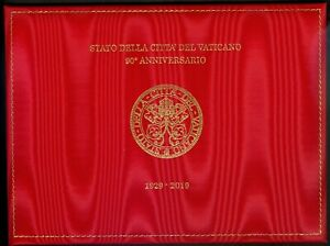 2019 Vatican City: Foundation of the Vatican City State Fabric stamp/FDC Folder
