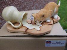 More details for  an original sherratt and simpson piece  -  kitten spilt milk (656gin)